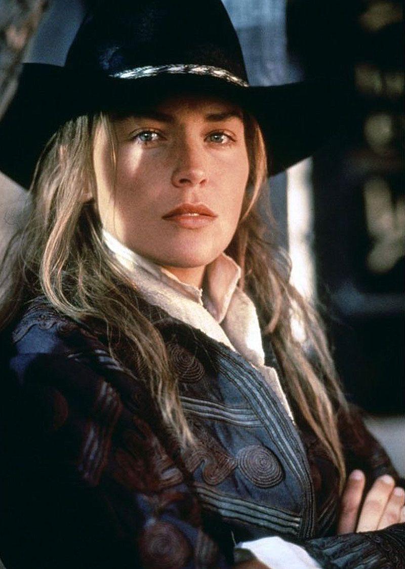 """Sharon Stone en """"Rápida y Mortal"""", 1995"""