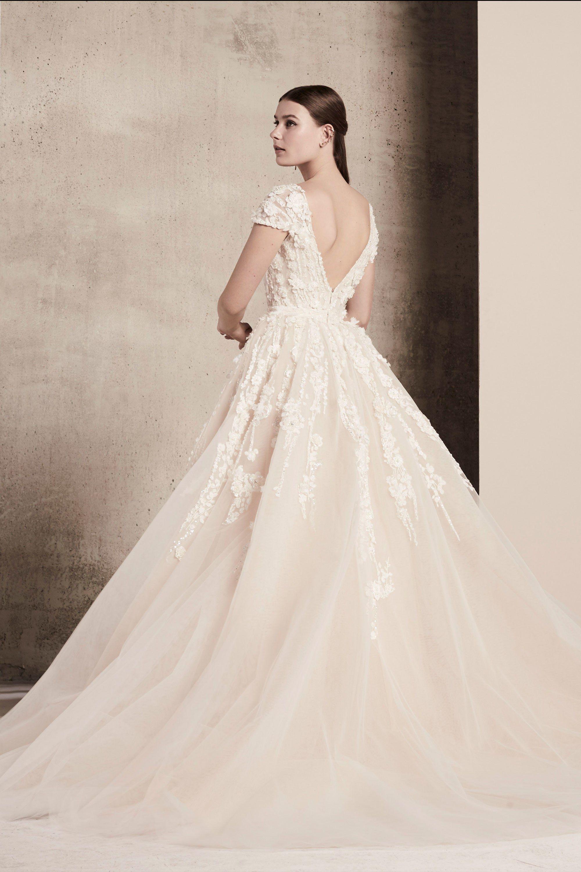 Elie Saab Bridal Spring Fashion Show womenus evening dresses