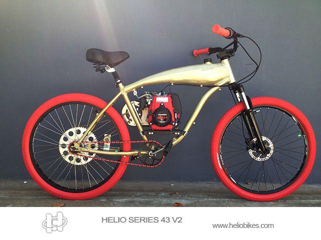 49cc 4 Stroke Honda Bycycle Motorized Bicycle Powered Bicycle