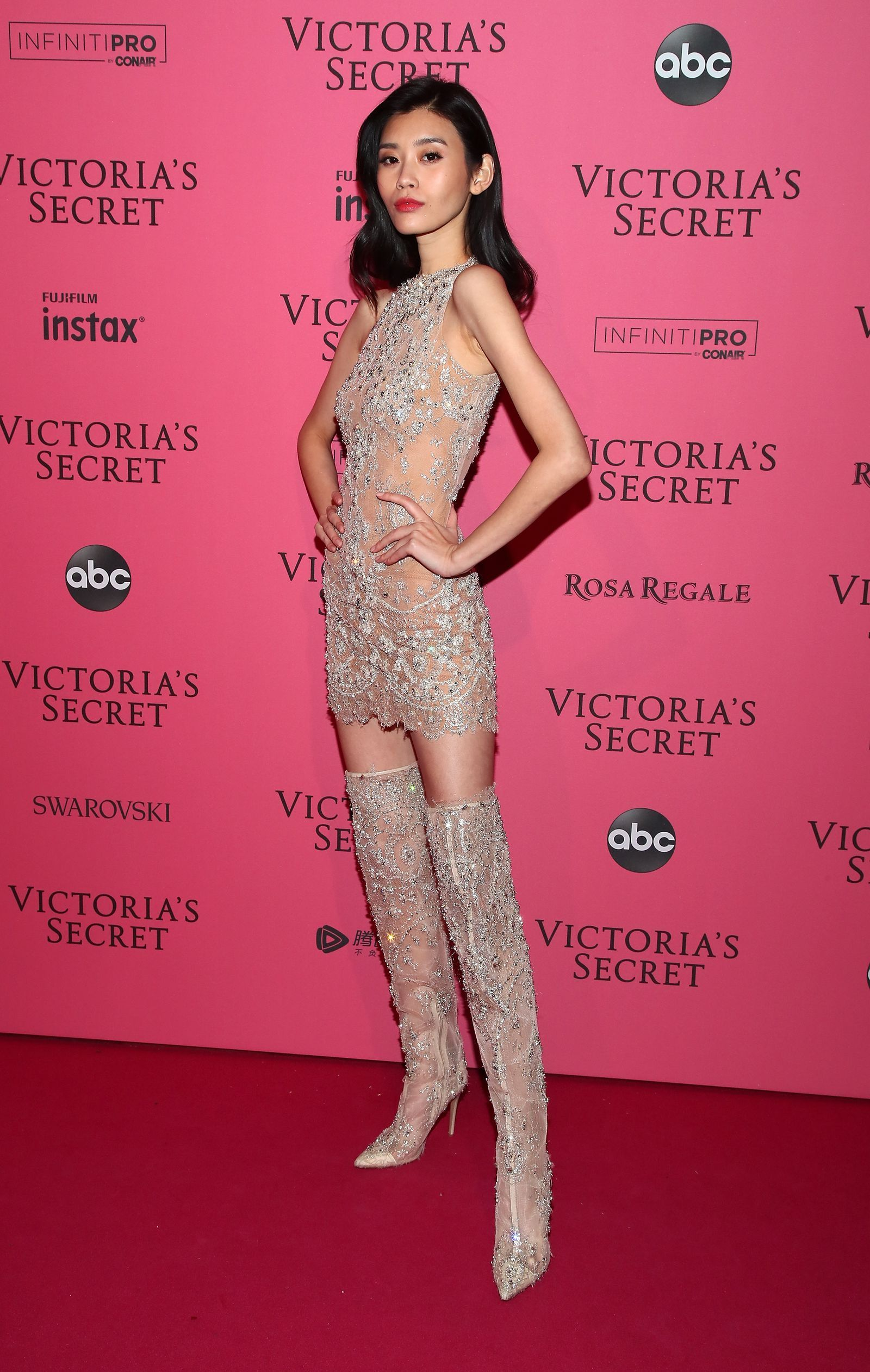 6b186237a6 Barely-There Looks from the Victoria s Secret Fashion Show After ...