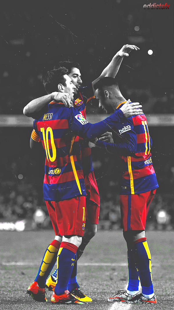 mesqueunclub.gr: Messi Suarez Neymar iPhone Wallpaper ...