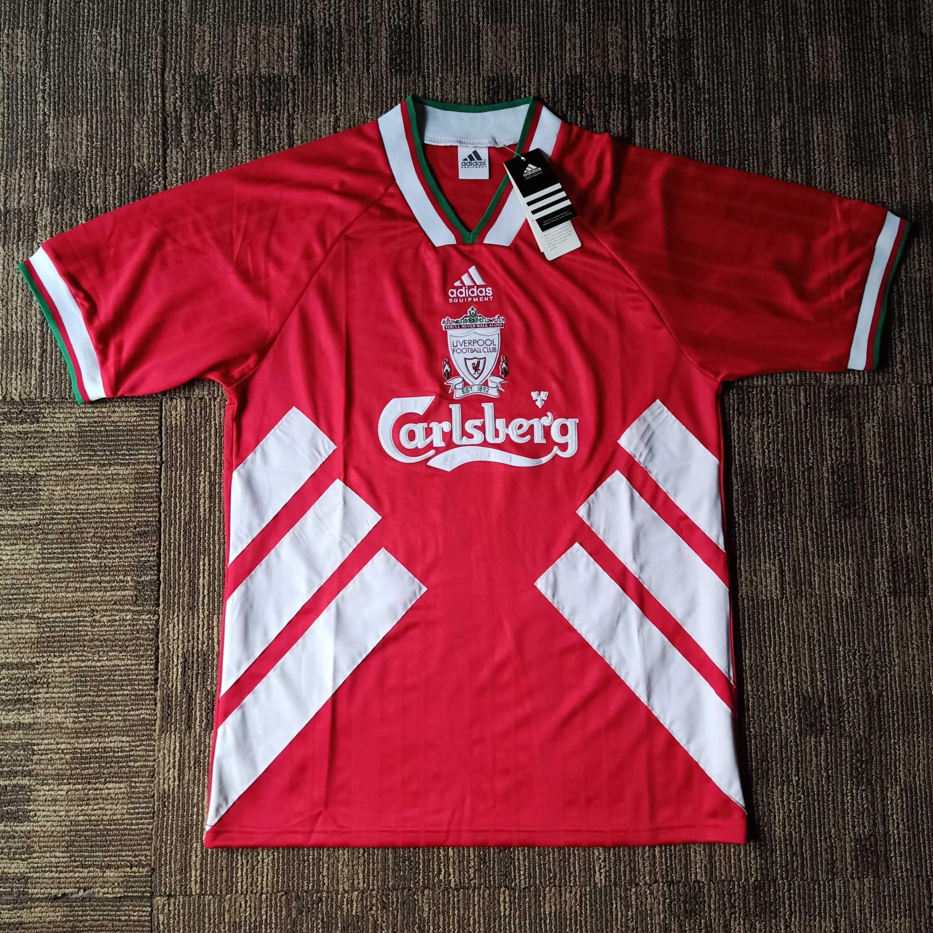1993 95 Liverpool Home Shirt In 2020 Classic Football Shirts Liverpool Home Vintage Football Shirts
