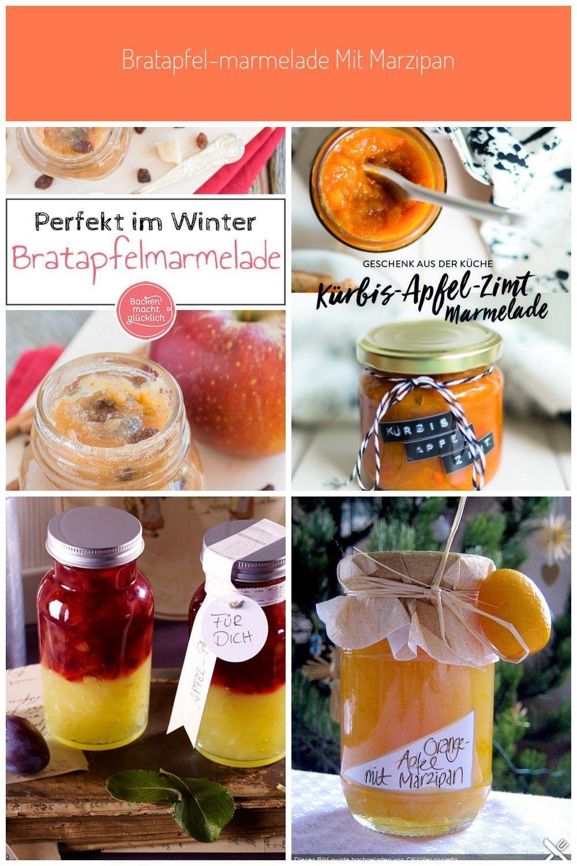 In Dieser Bratapfelmarmelade Stecken Gebackene Apfel Zimt Rosinen Und Marzipan Fur Mich Die Perfekte Winterliche Kombination Aus Zutaten Food Fruit Radish