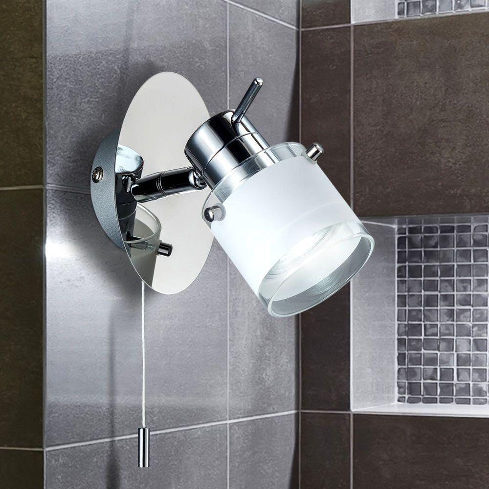 Led Badezimmerleuchte Wand Lampe Bad Strahler Spot Ip44 Beleuchtung Spiegellicht Ebay Led Lampen Bad Led Leuchten