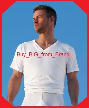 TALL MAN Undershirts by Jockey - A must have!!  $29.50 with FREE U.S. Shipping!!