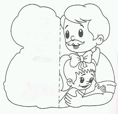 Dibujos Del Dia Del Padre Para Pintar Parte 2 Fathers Day