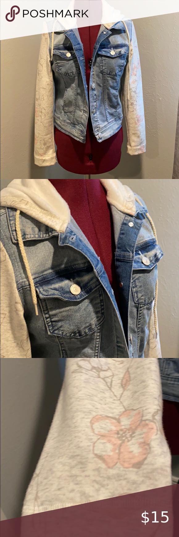 Jean Jacket Hoodie Combo Jean Jacket Hoodie Jean Jacket Sweater Hoodie [ 1740 x 580 Pixel ]