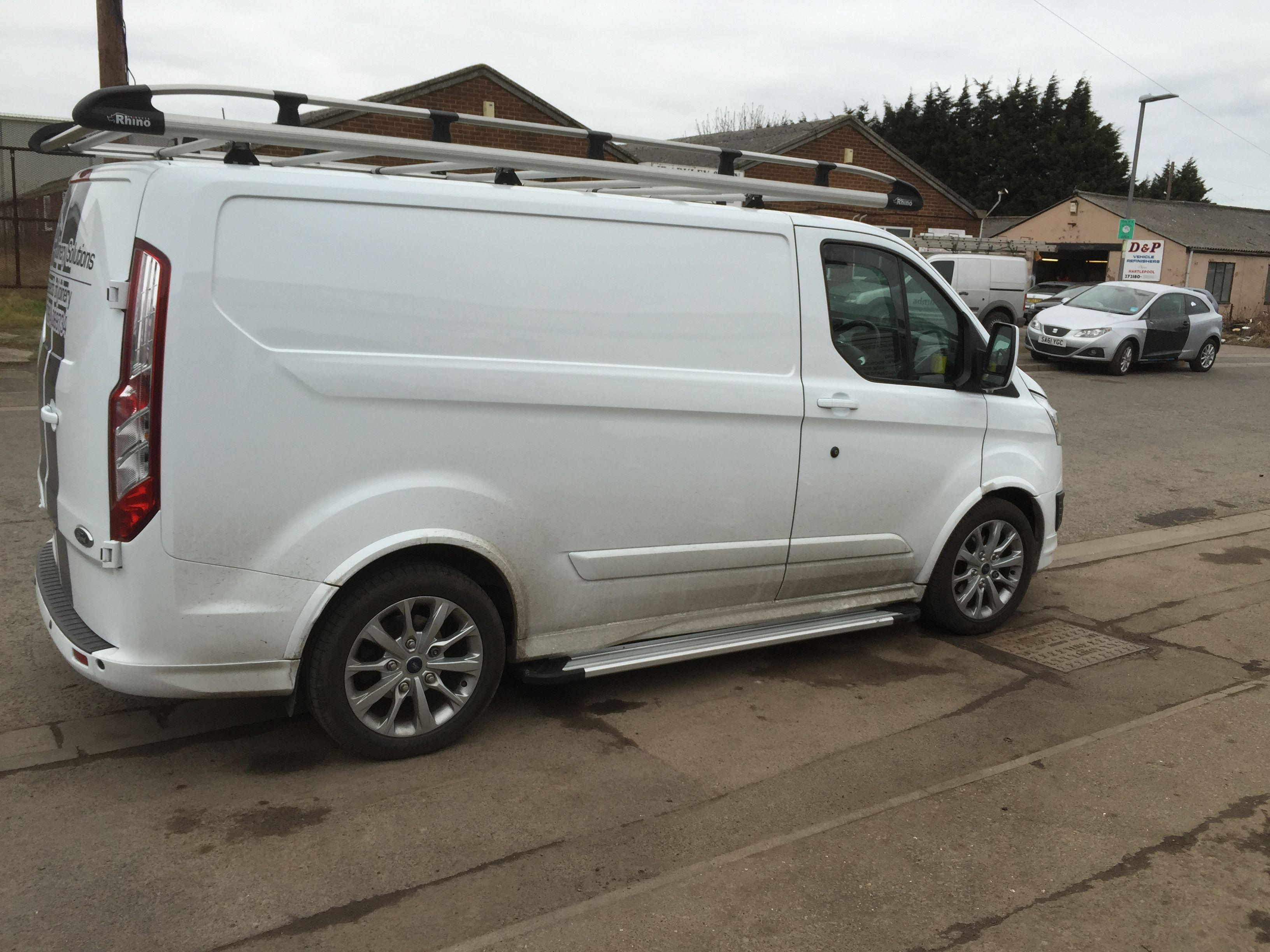 Ford Transit Custom Running Boards Busjes