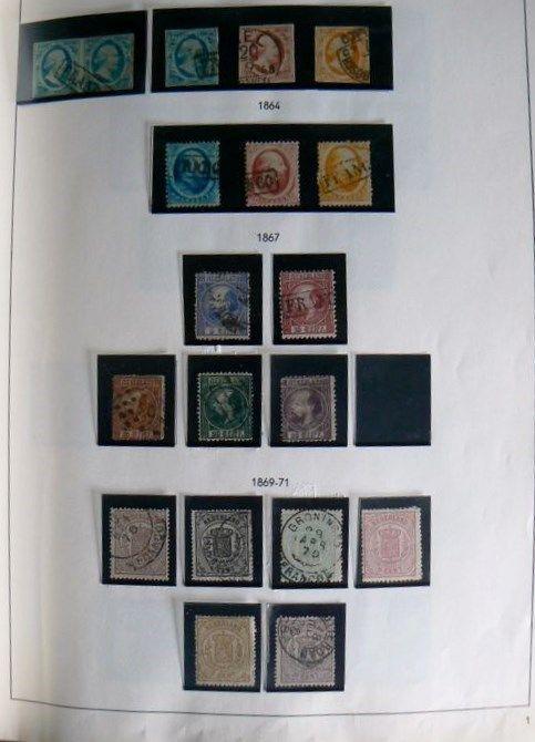 Nederland 1852/1984 - Collectie in Holland album