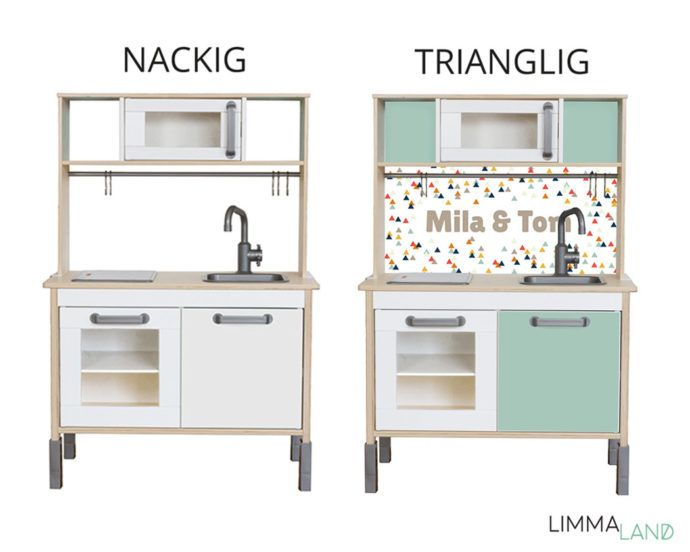 pin von limmaland auf ikea hack duktig kinderk che pinterest kinder zimmer kinderzimmer. Black Bedroom Furniture Sets. Home Design Ideas
