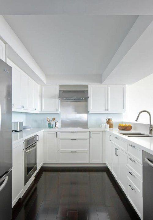 u-form küche moderne minimalistische Einrichtung | Hogar ...