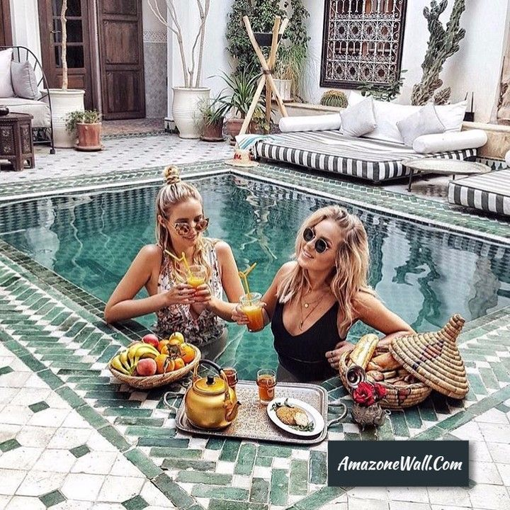 bee12e1e3ebb Celebrate Life In A Pool Party For Two.  luxury  pool  party  fun  friend   girl  best . Do you want this kind of lifestyle  Make it happen today!