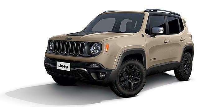 Nuova Jeep Renegade Desert Hawk Edition 2017 Jeep Jeep