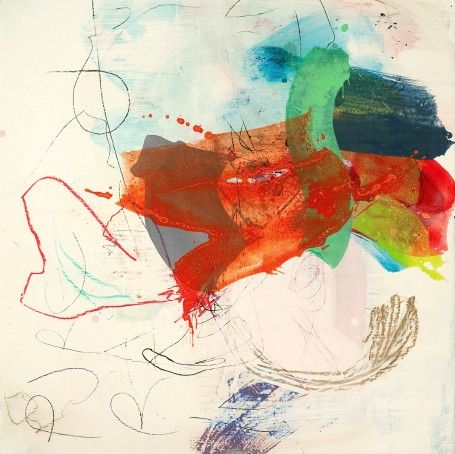 Paintings I wrote on in 2009 #2 by Dorothy Goode