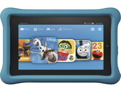 Amazon Fire Kids Edition 7 Tablet 8gb Blue Black Front