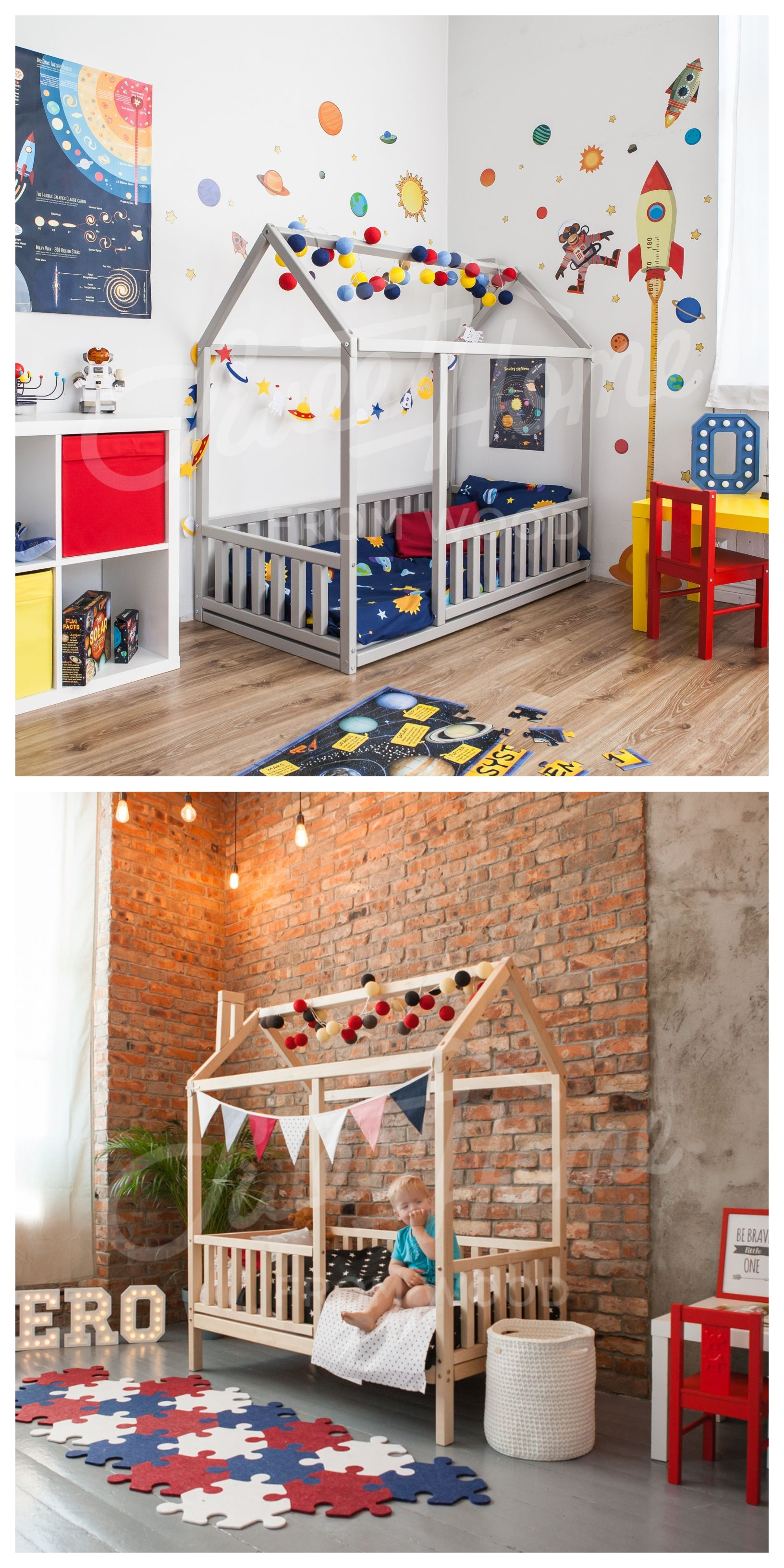 Toddler Bed Child Room Ideas Children Bed Floor Bed