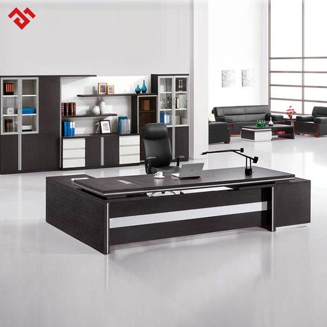 Chocolate Malamine Executive Desk