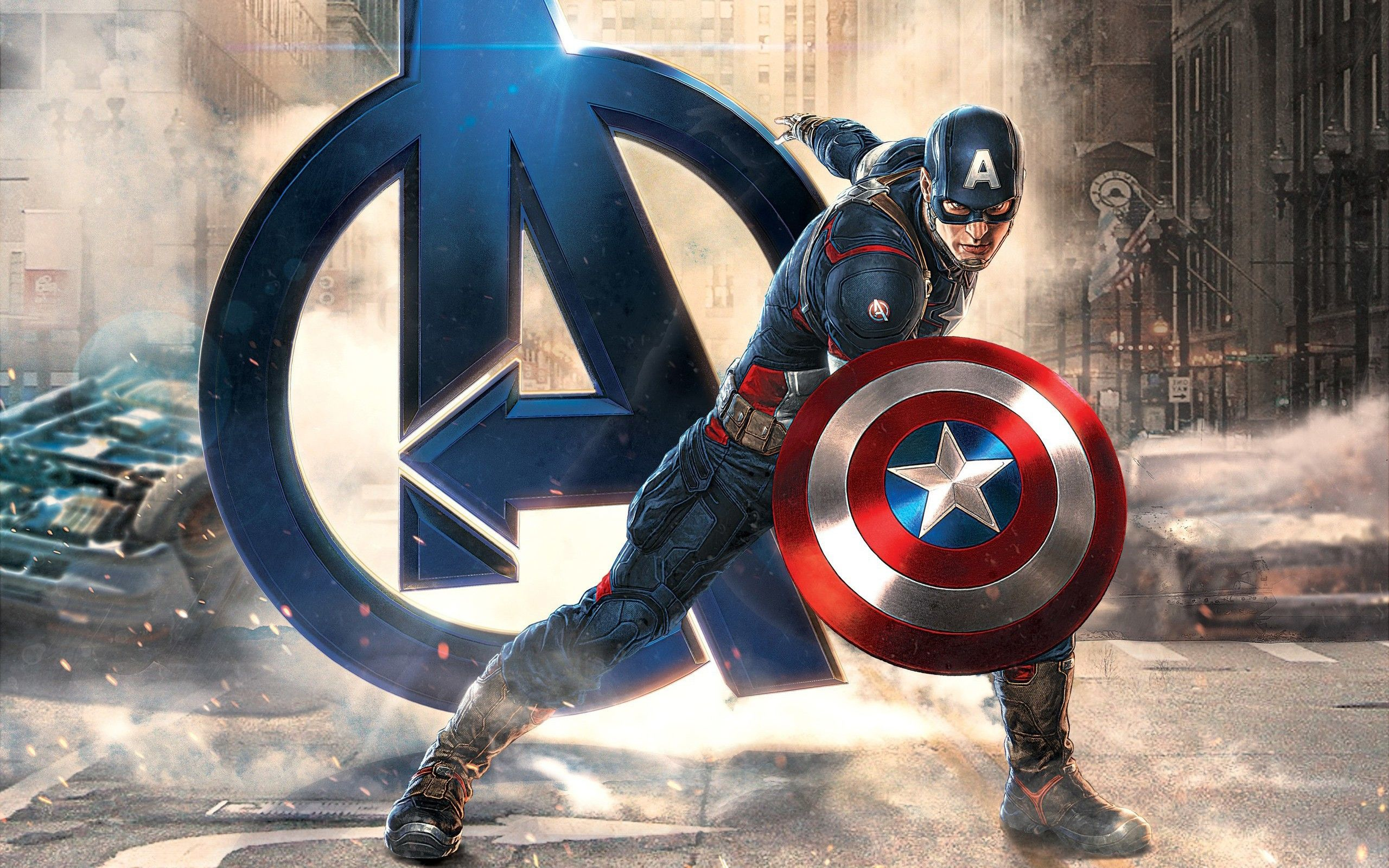 the avengers thor and captain america hd desktop wallpaper