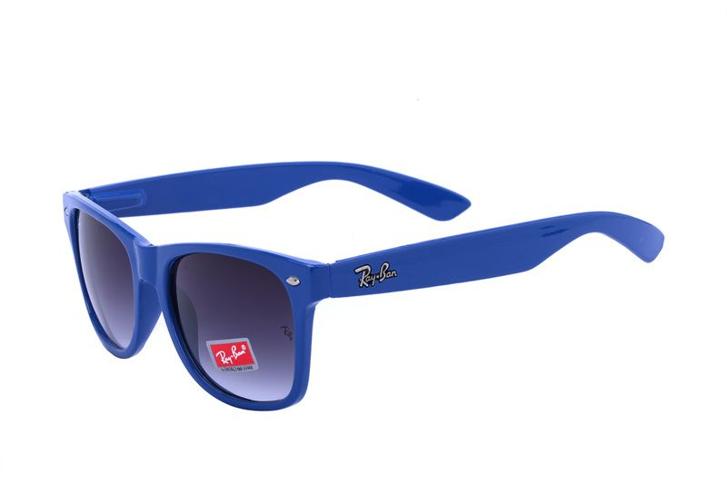 da912d48571ef Ray Ban Wayfarer Classic RB2140 Black Blue Sunglasses