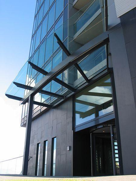 Modern Glass Canopy Black Glass Canopies Canopy