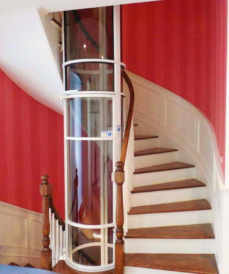 Spiral Staircase Chair Lift