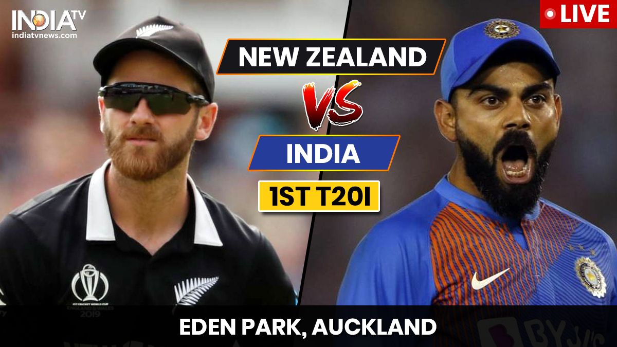 India vs New Zealand, 1st T20I Watch IND vs NZ live match