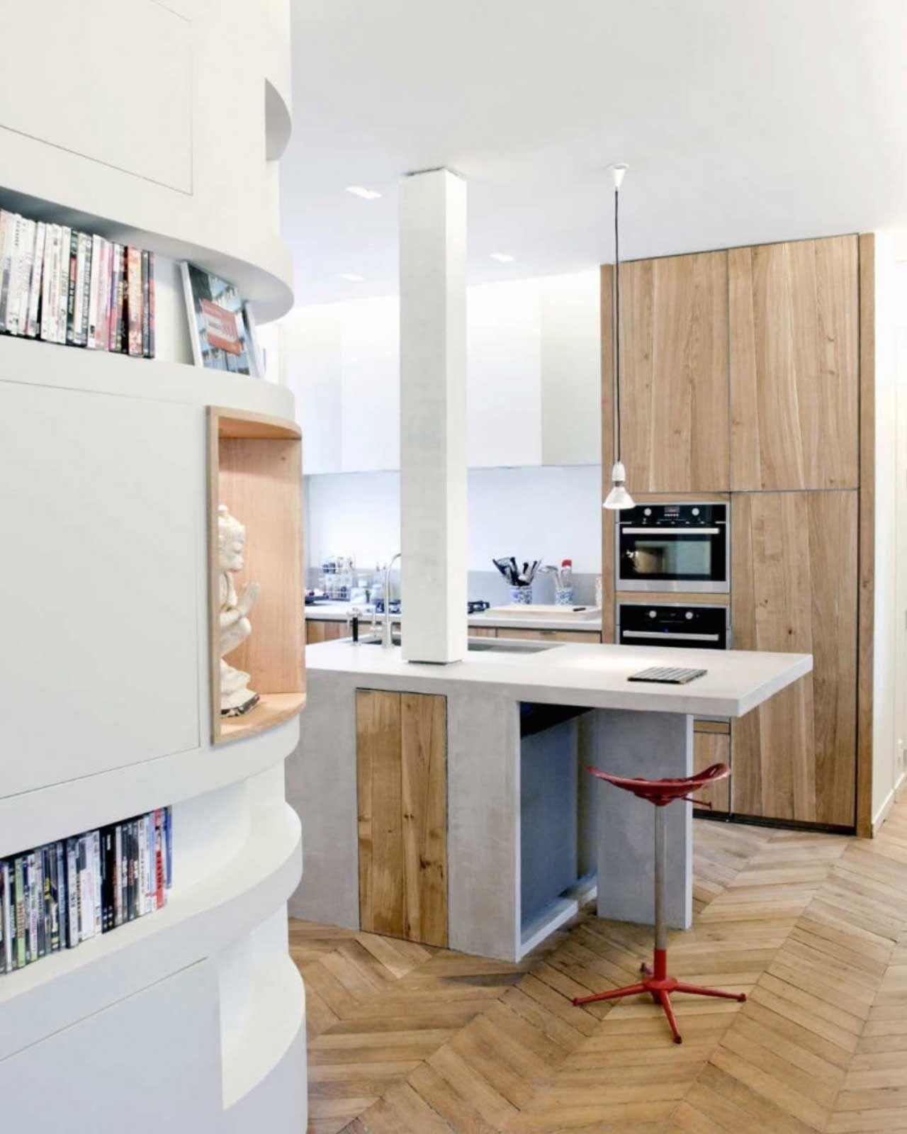 cocina y sala de estar unidos - Ideas para crear un pequeño comedor ...