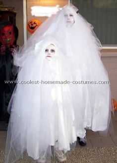 coolest homemade ghost costume ideas more