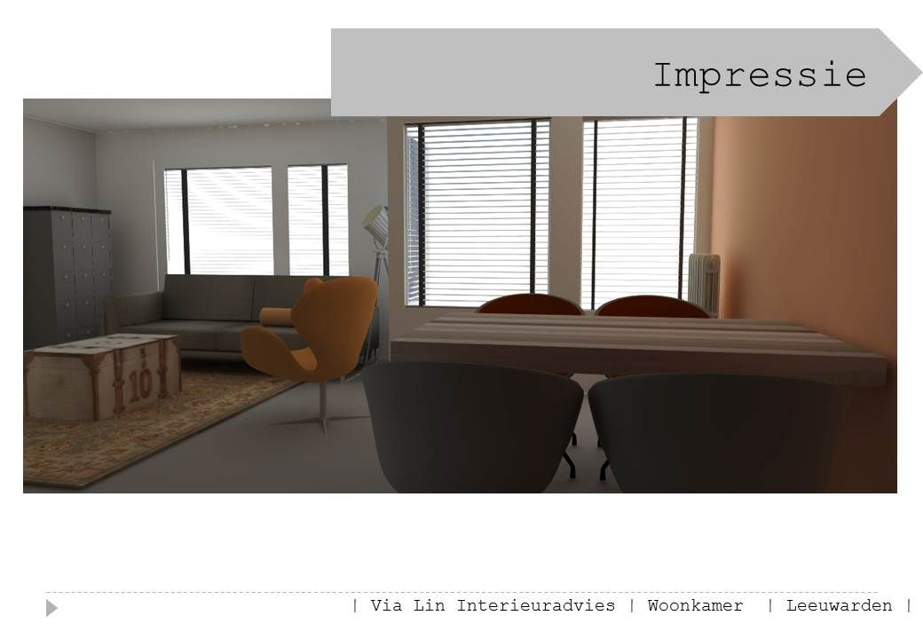 Impressie interieuradvies woonkamer Leeuwarden Friesland Stoer en ...