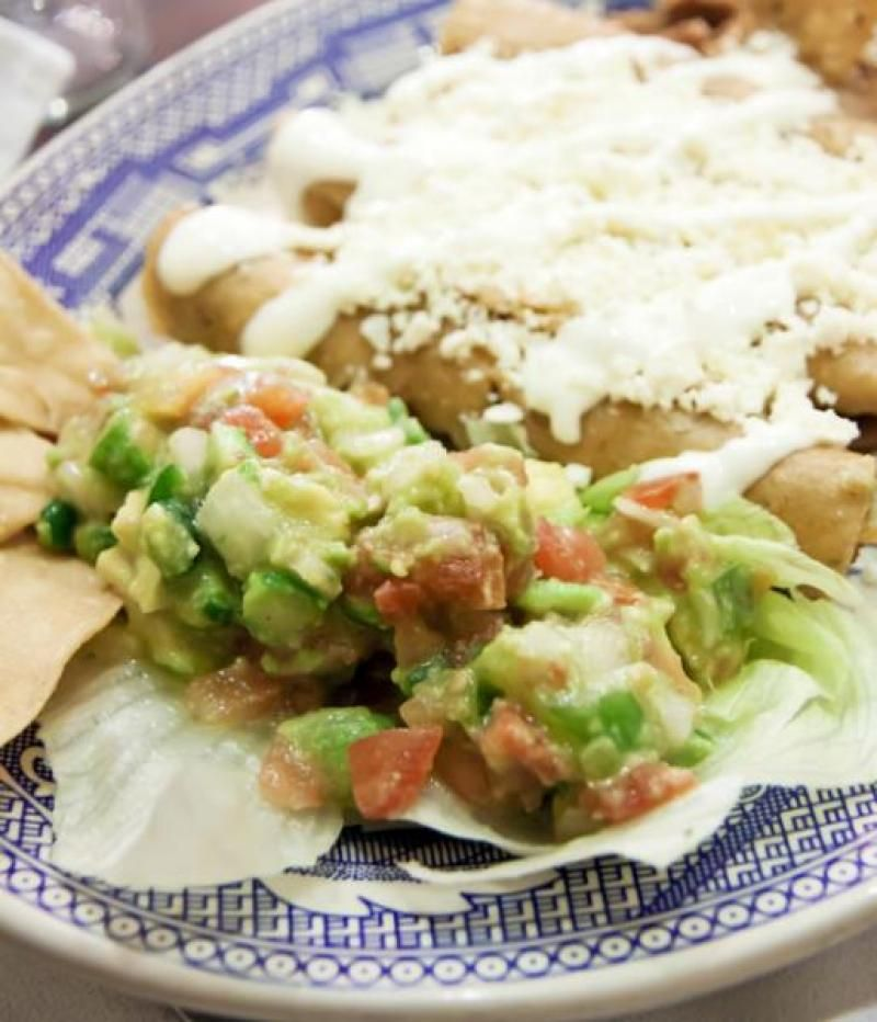 Green Chile Enchiladas Recipe From Authentic Mexican Kitchen