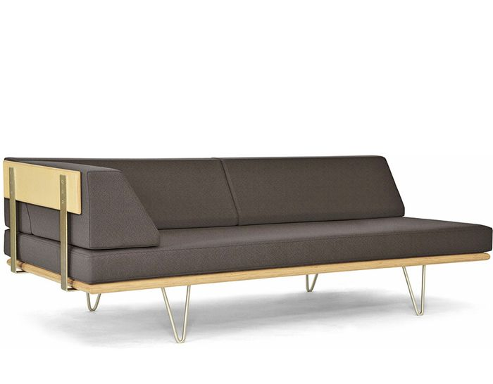 Case Study V Leg Daybed With Arm By Modernica