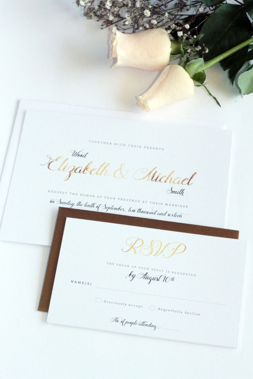 Patricia Black Chic Wedding Invitation Sets, Printable Wedding ...
