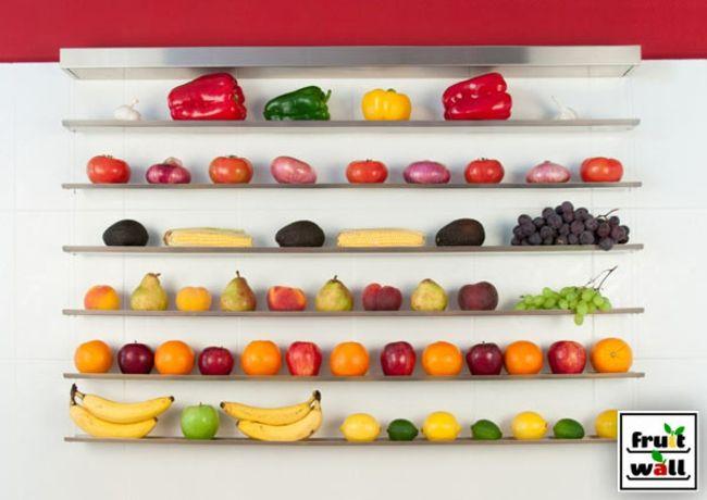 frische Produkte Küche Stauraum org…