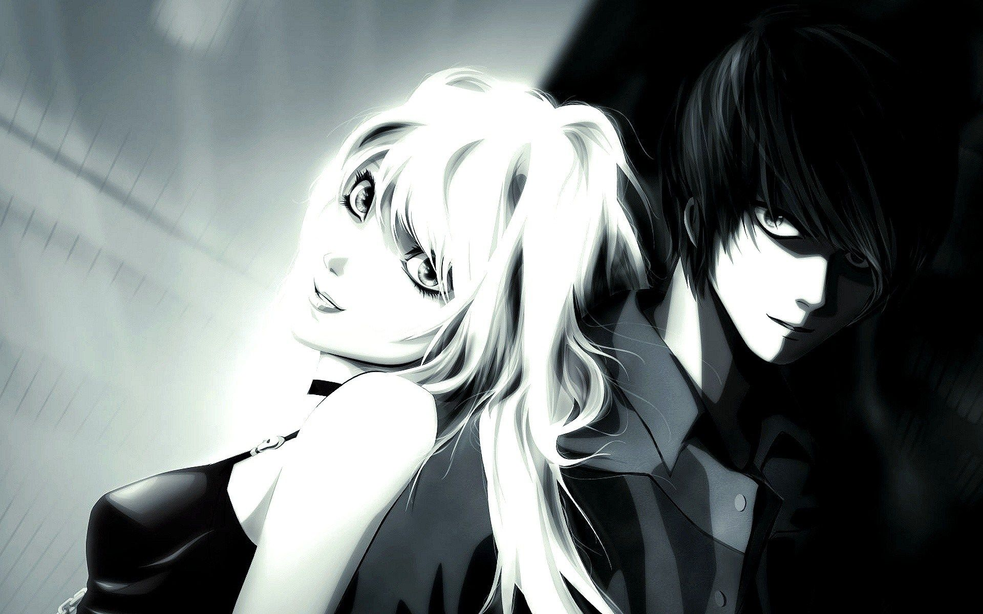 Anime Boy And Girl In Love Hd Wallpaper High Definition Wallpapers