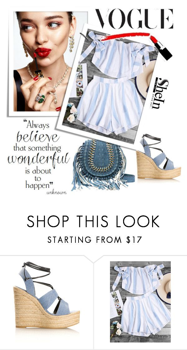 """""""Sheinside contest"""" by dobrivojekata ❤ liked on Polyvore featuring Yves Saint Laurent and KAROLINA"""