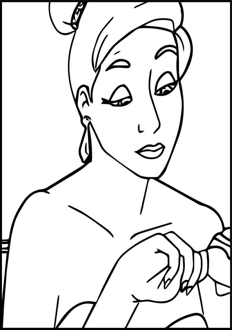 Anastasia Table Coloring Page Bible Coloring Pages Coloring