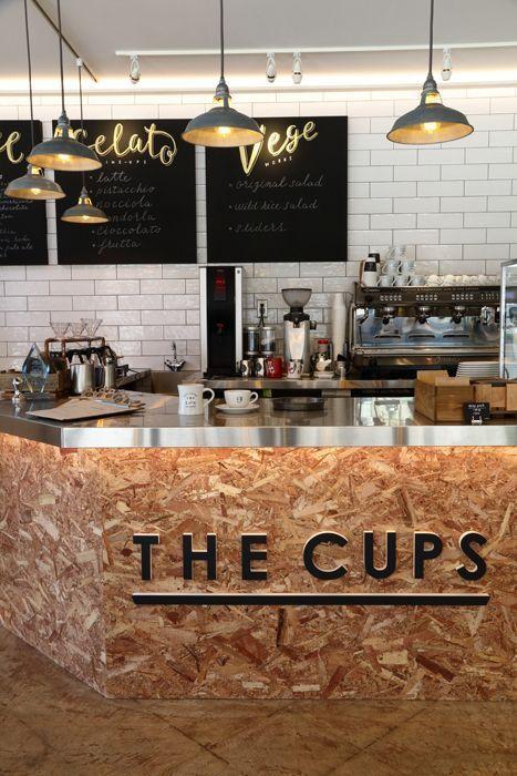 The Cups Cafe Kitchen Inspo Cafeter 237 A Acogedora Interiores De Tiendas De Caf 233 Dise 241 O De