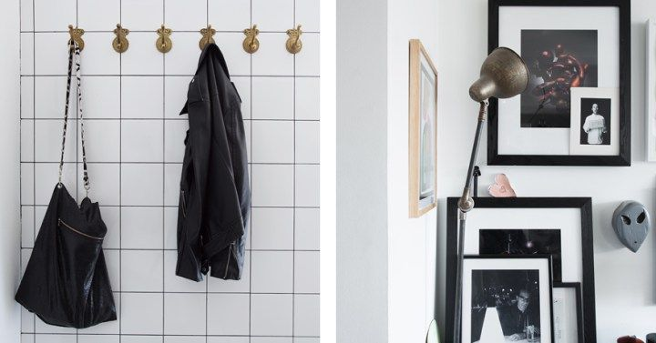 Post: Acogedora buhardilla en grises ---> ático, decoración, grises, blog decoración nórdica, cocina diáfana, decoración áticos, decoración en gris, decoración pisos pequeños, techos inclinados