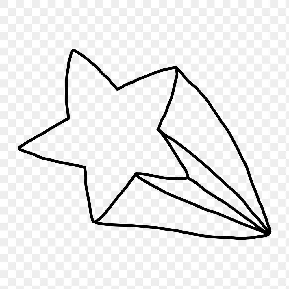 Hand Drawn Shooting Star Design Element Free Image By Rawpixel Com Marinemynt How To Draw Hands Free Illustrations Design Element