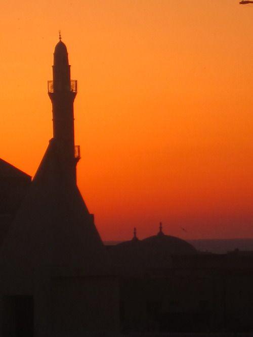 Tel Aviv-Yafo Rooftop Sunset