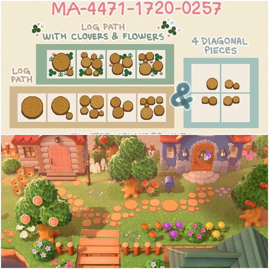 10 7k Likes 28 Comments Animal Crossing Animalcrossing Qr On Instagram Log Path Design Animal Crossing Wild World Animal Crossing Animal Crossing 3ds