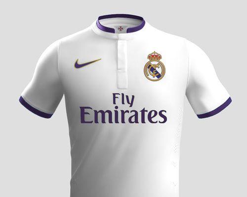 Nike And Real Madrid Fantasy Kit
