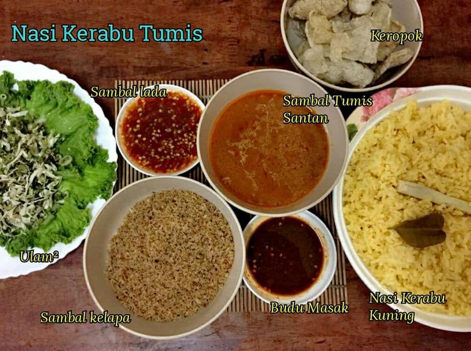 Resepi Nasi Kerabu Kelantan Paling Lazat Iluminasi Daging Bakar Tumis Nasi