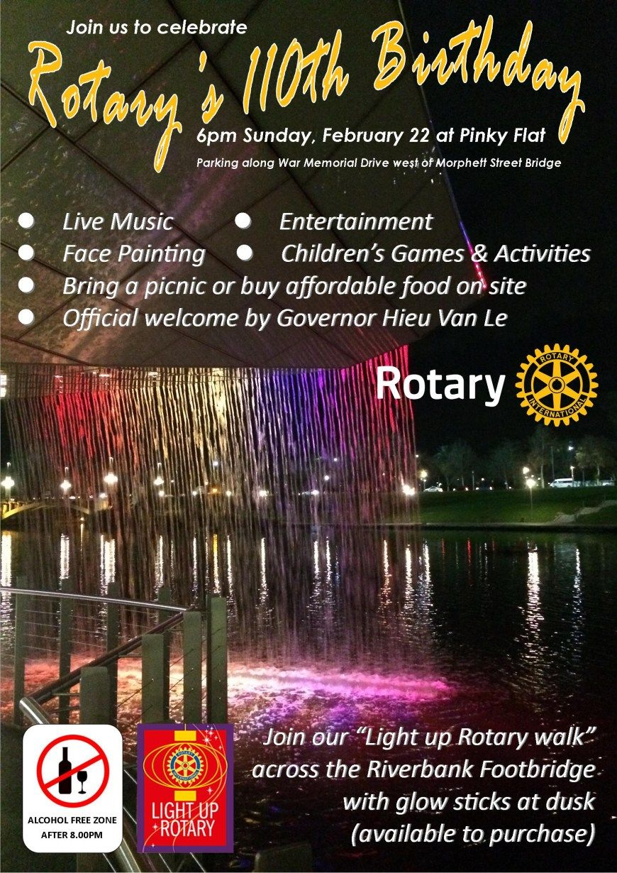 rotary international 110th anniversary - Bing Images