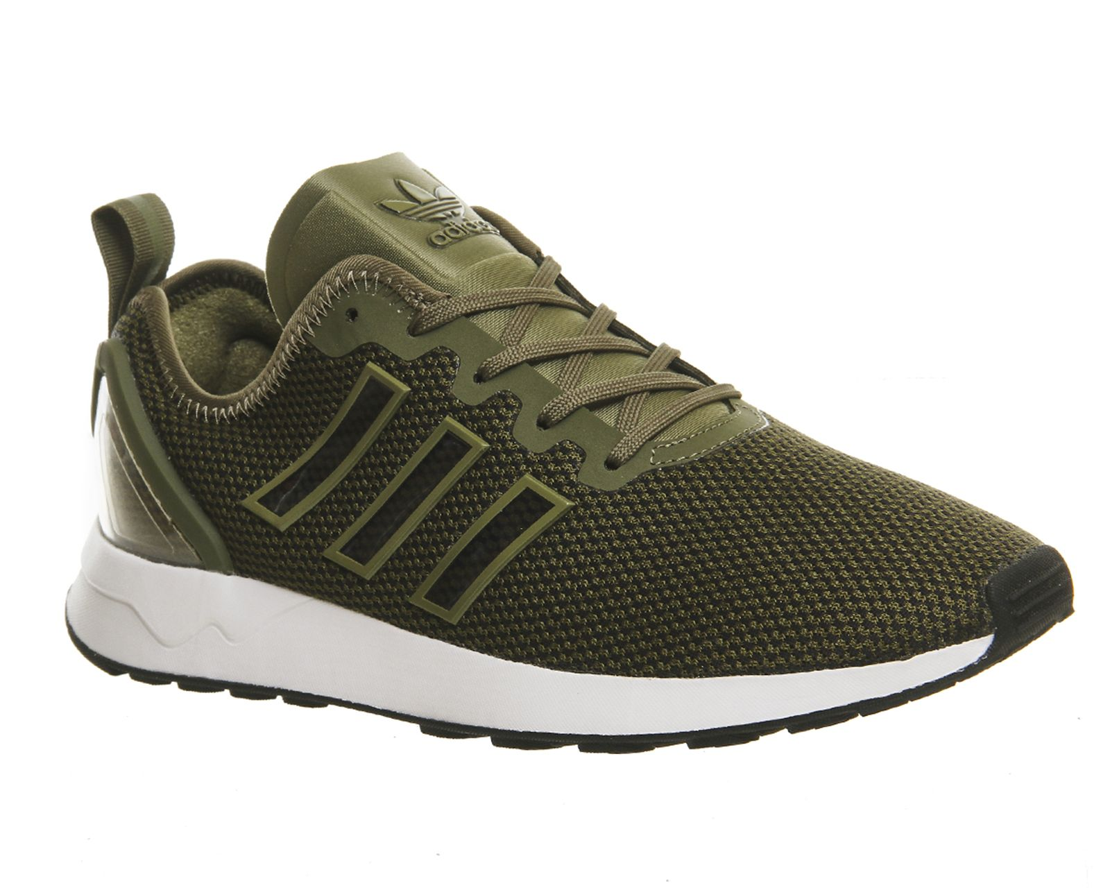 new product 7b51e 8b8fa Buy Olive Cargo Adidas Zx Flux Racer from OFFICE.co.uk ...