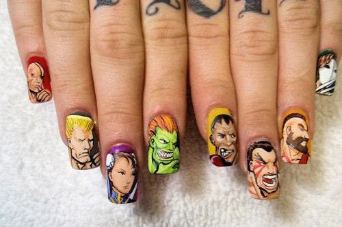 31 Images Of Gorgeously Geeky Nail Art Creative Nails Nails
