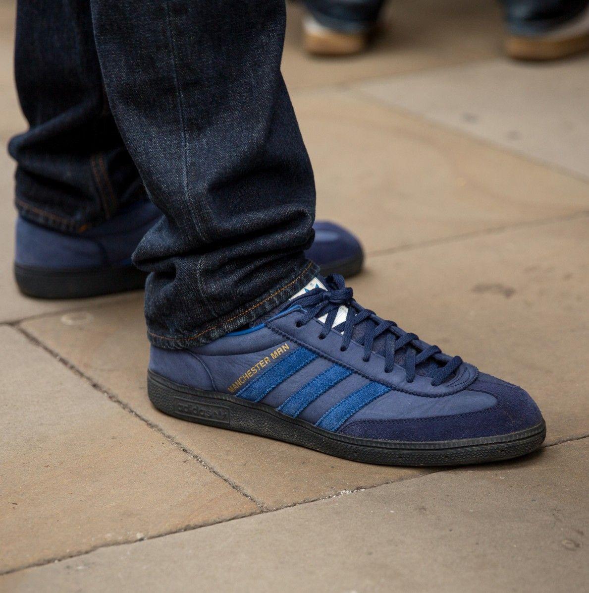 cheap for discount 9e98d a57b0 Manchester MRN on feet on the street Adidas Og, Adidas Shoes, Adolf Dassler,