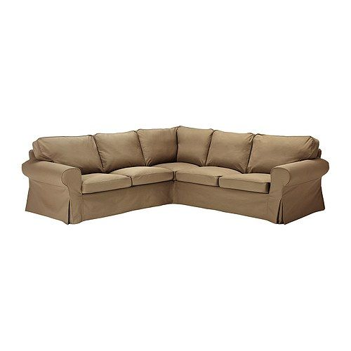 EKTORP Corner Sofa IKEA Easy To Keep Clean With A Removable,machine  Washable Cover.