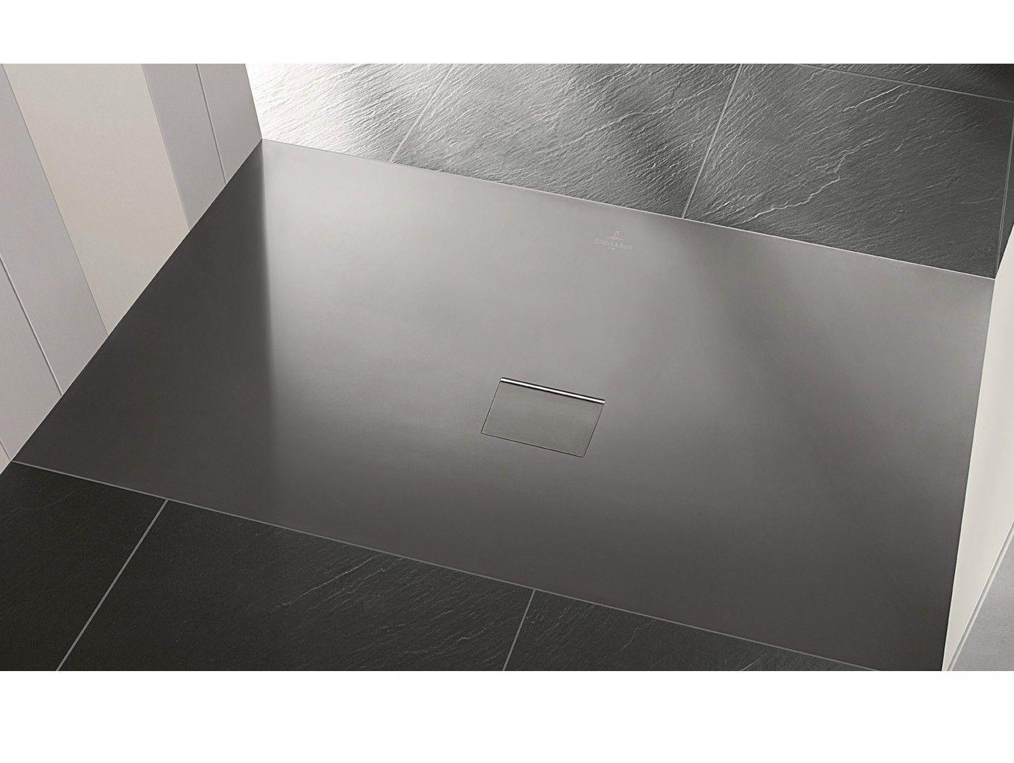 Quaryl Shower Tray Squaro Infinity By Villeroy Boch Shower Tray Villeroy Boch