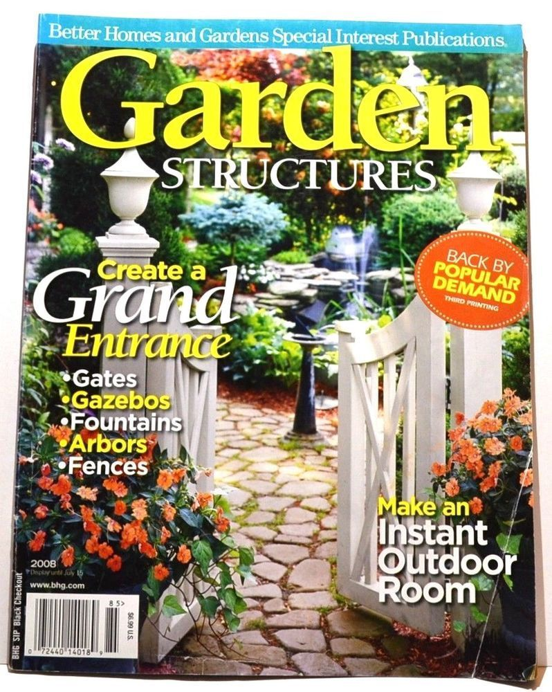 Home garden kit  Better Homes and Gardens Garden Structures Magazine   Fan